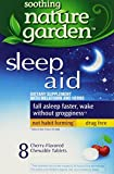 Soothing Nature Garden Sleep Remedy 8ct Chewable Tablets *Compare to MidNite*