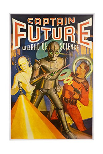 Captain Future Poster as seen on the Big Bang Theory (Big Bang Theory Penny Poster compare prices)