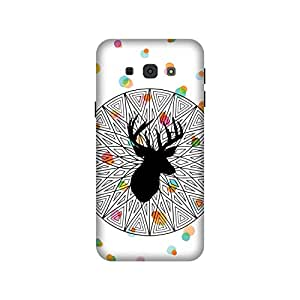 The Racoon Grip printed designer hard back mobile phone case cover for Samsung Galaxy A8. (The Poser)