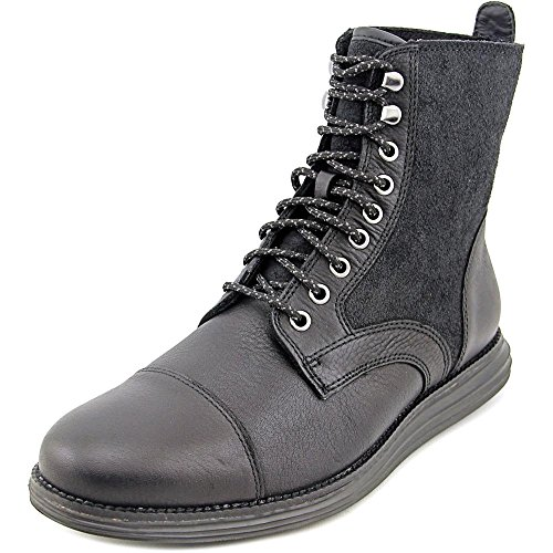 Cole Haan Lunar Grand Lace Boot Men US 9.5 W Black Ankle Boot (Cole Haan Lunars compare prices)