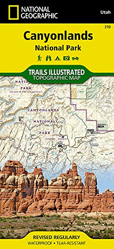 Canyonlands National Park : 1/70 000 (Trails Illustrated Map)