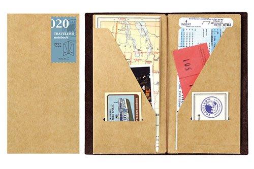 Midori Traveler's Notebook -Standard Size (Refill 020)