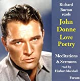 img - for Richard Burton reads John Donne book / textbook / text book