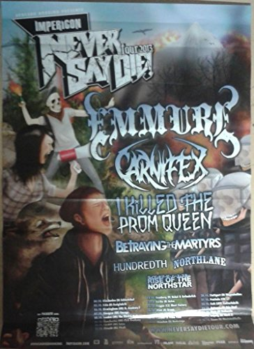 Emmure/Carnifex, 60 x 84 cm/Poster mostra