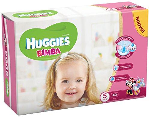 Huggies - Bimba - Pañales - Talla 5 (11 - 25 kg) - 42 pañales