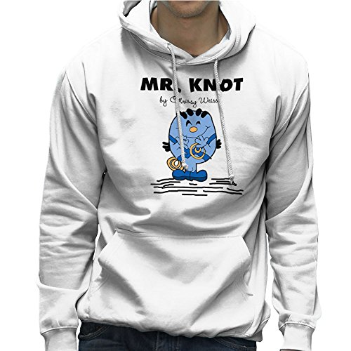Mr Knot By Chrissy Weiss Slipnot Suicide Squad Mr Men Men's Hooded Sweatshirt