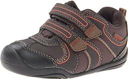 pediped Grip Boulder Boot (Toddler),Chocolate Brown,21 EU(5.5 E US Toddler)