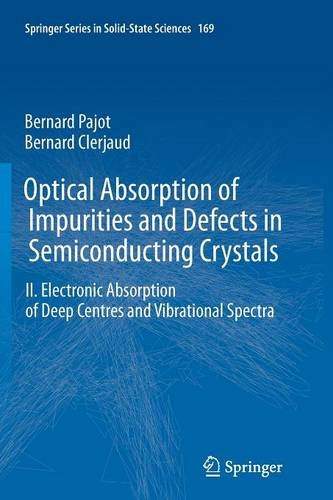 Optical Absorption Of Impurities And Defects In Semiconducting Crystals: Electronic Absorption Of Deep Centres And Vibrational Spectra (Springer Series In Solid-State Sciences)