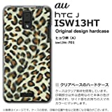 au ISW13HTケース・カバー HTC J au ヒョウ柄(A) isw13ht-701
