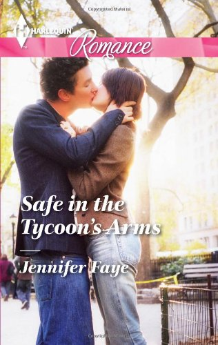 Image of Safe in the Tycoon's Arms (Harlequin Romance)