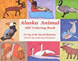 Alaska Animal ABC Coloring Book (1594330786) by Linda Thompson