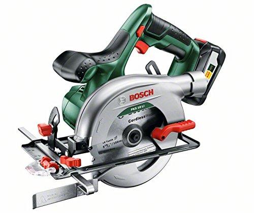 Bosch-DIY-Akku-Kreissge-PKS-18-LI-Akku-Ladegert-1-Sgeblatt-Parallelanschlag-Karton-18V-25-Ah-Schnitttiefenbereich-bei-90-0-48-mm-Kreissgeblatt-Nenn--150-mm