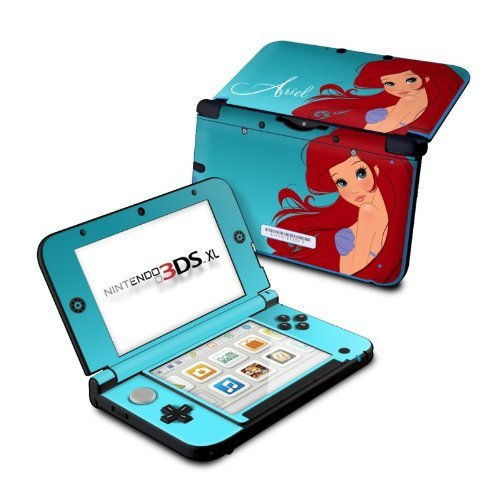 ariel-design-protective-decal-skin-sticker-for-nintendo-3ds-xl-2014matte-satin-by-mygift