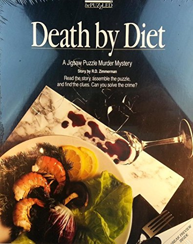 Murder Mystery Jigsaw Puzzle - Death By Diet - 1