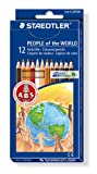Staedtler skin tones pencils, pack 12