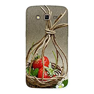 Special Straberry Basket Multicolor Back Case Cover for Samsung Galaxy Grand 2