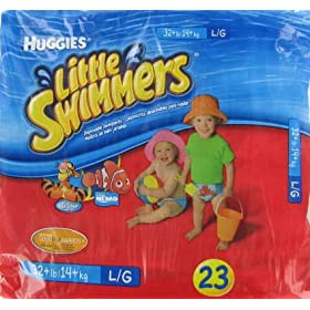 Huggies Little Swimmers - Large (32+ lbs) 23 Swim Pants