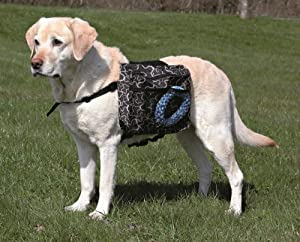 Trixie 30103 Rucksack for Dogs L 28 × 18 cm Black
