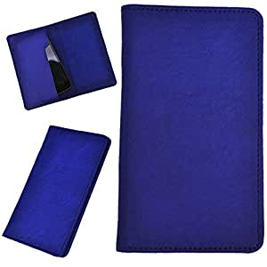 DCR Pu Leather case cover for HTC One St (blue)