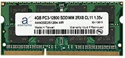 Adamanta 4GB (1x4GB) Memory Upgrade for Dell Latitude 3570 DDR3L 1600Mhz PC3-12800 SODIMM 2Rx8 CL11 1.35v Notebook RAM