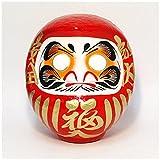赤張子だるま 7号(1個)  / お楽しみグッズ(紙風船)付きセット