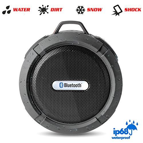 Waterproof bluetooth shower speaker the original wireless for Best bathroom speakers