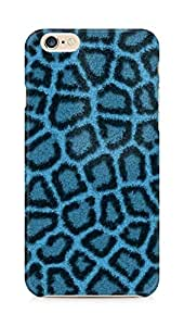 Amez designer printed 3d premium high quality back case cover for Apple iPhone 6s (Leopard Hide Blue)