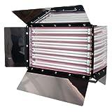 Limostudio Photography Photo Video Studio 1650W Digital Light Fluroescent 6-Bank Barndoor Light Panel, AGG993