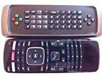 NEW Vizio 3D TV dual side keyboard QWERTY Remote Control XRT301 XRT303----M-GO/Netflix/amazon/ 3D Key