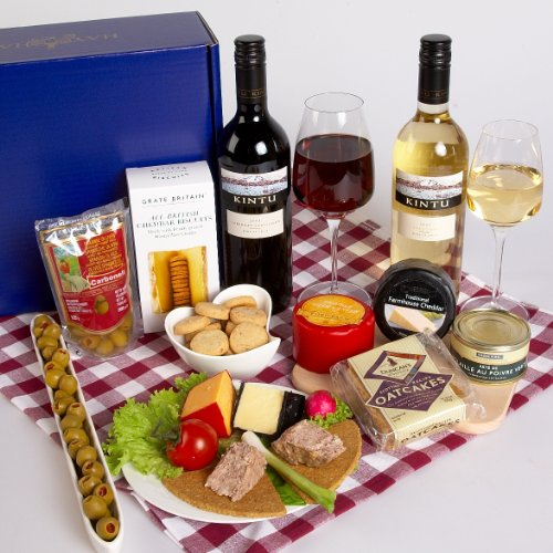CHEESE AND WINE PICNIC IN GIFT BOX