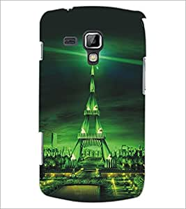 PrintDhaba Tower D-5421 Back Case Cover for SAMSUNG GALAXY S DUOS S7562 (Multi-Coloured)