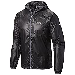 Mountain Hardwear Men\'s Ghost Lite Jacket, Black, Large