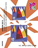 London 2012 Olympic and Paralympic Games sports Stamp and Pin Collection - SAILING (No.19 in a set of 30)