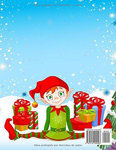 Navidad Libro Para Colorear para Los Ninos (El Estrés Adulto Dibujos para colorear)