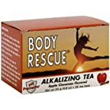Body Rescue Alkalizing Tea Apple Cinnamon -- 20 Tea Bags