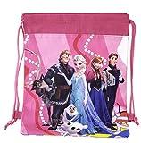 Disney Frozen Anna,elsa and More Non-woven String Backpack for Kids Children's School (Model 2)
