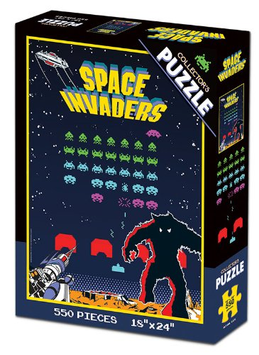 Space Invaders Collector's Puzzle - 1