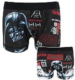 Star Wars lado oscuro & Marvel Avengers pequeños pantalón Boxer, año 10. NOIR 22212 5 años