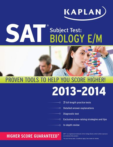 Kaplan SAT Subject Test Biology E/M 2013-2014