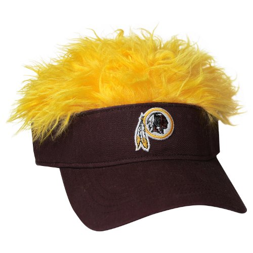 NFL Washington Redskins Flair Hair Adjustable Visor, Red at Amazon.com