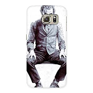 Gorgeous White Insane Multicolor Back Case Cover for Samsung Galaxy S6 Edge