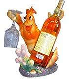 JBJ Lobster Wine Bottle and Glass Holder