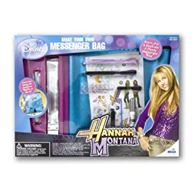 Hannah Montana: Make Your Own Messanger Bag by Mega Brands