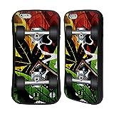 Head Case Designs レゲエ スケートボード ハイブリッドケース Apple iPhone 6 Plus / 6s Plus