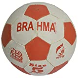 Brahma Sports Brahma Football 5 No-3 Ply Unisex Synthetic Football Number -5 Multi Colour