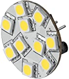 Goobay 30336 LED-Chip für G4 Lampensockel mit 10 SMD LEDs Leuchtfarbe warm weiß / Pins rückseitig