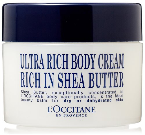 L'Occitane L'Occitane Shea Butter Ultra Rich Body Cream, 7-Ounce Tub