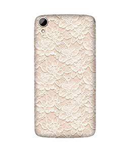 Crochet Printed Back Cover Case For HTC Desire 828