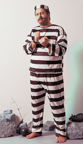 Costume-Deluxe Convict Male XLG