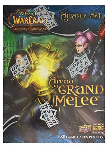 World of Warcraft TCG WoW Trading Card Game Arena Grand Melee Alliance Set - 1